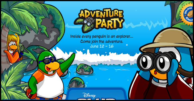 adventure party background!