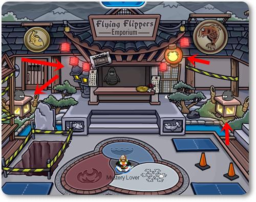 ninja  hideout oscuro